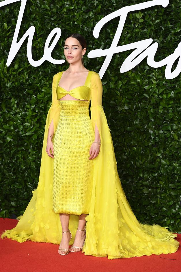 emilia-clarke-arrives-at-the-fashion-awards-2019-held-at-news-photo-1575365813
